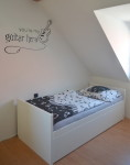 Rozkládací postel 90 x 200cm